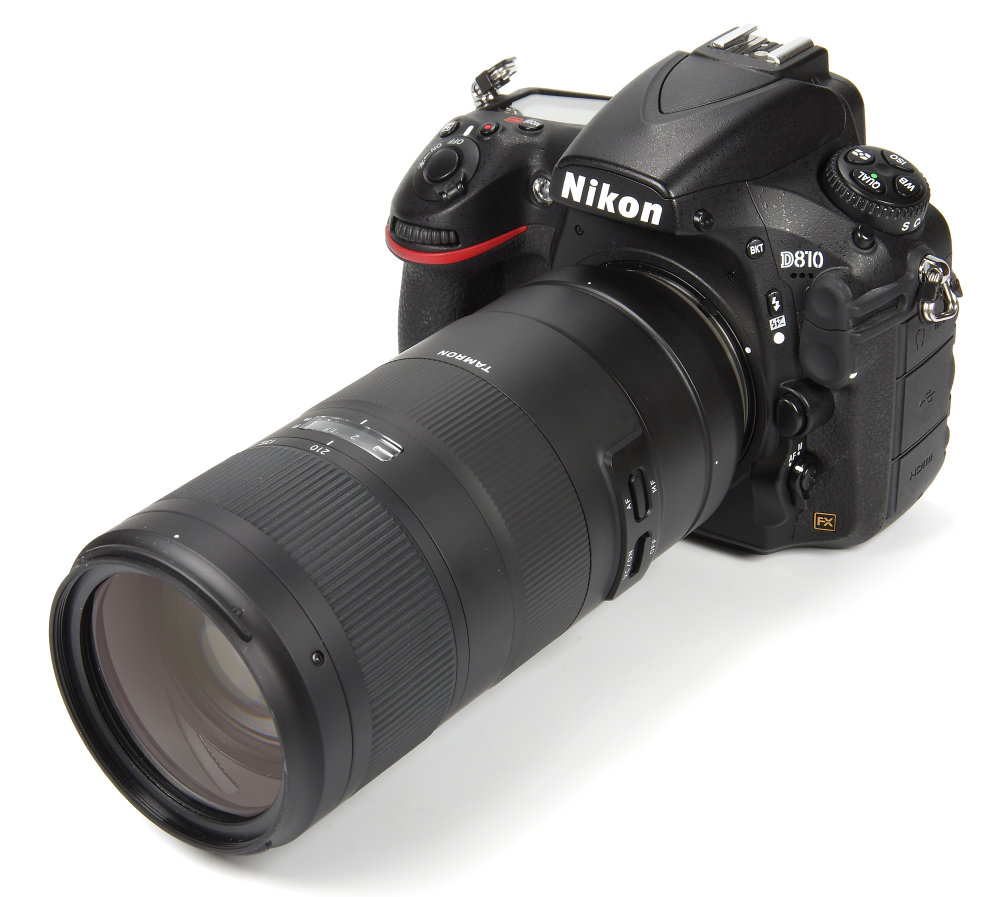 Tamron 70 210mm F4 On Nikon D810