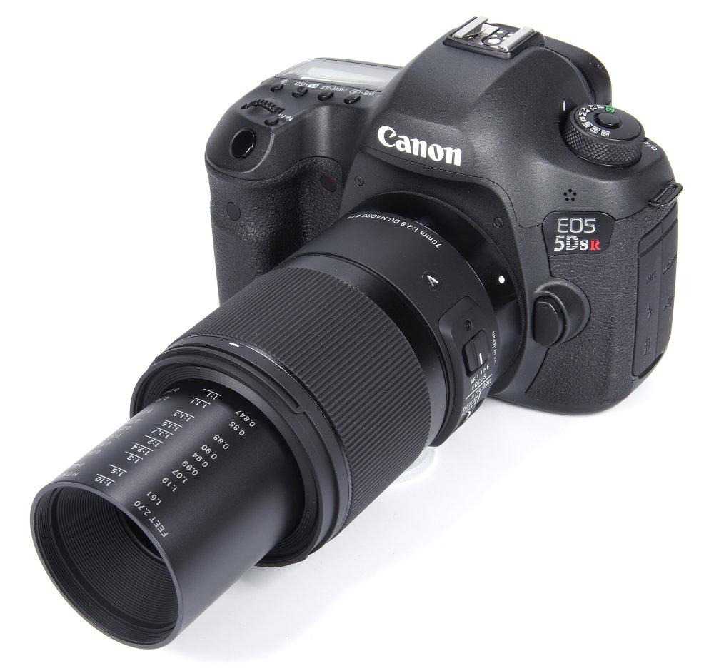 Sigma Af 70mm F2,8 Dg Macro Art Lens Full Macro Extension On Canon 5dsr